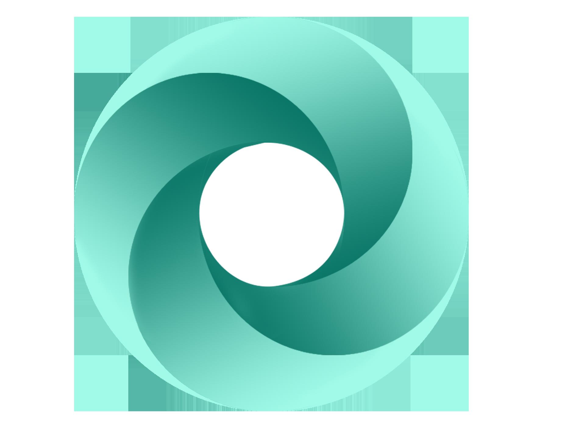 三个组合的圆